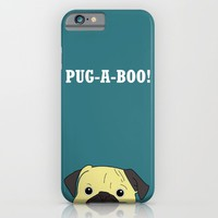 Pug-A-Boo!!  iPhone & iPod Case by Laura Maria Designs