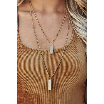 Double The Fun Necklace (Gold)