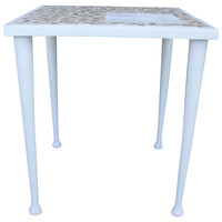 1950s Tiled Cocktail Table