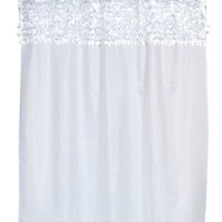 Jasmine Fabric Shower Curtains - 6 Colors