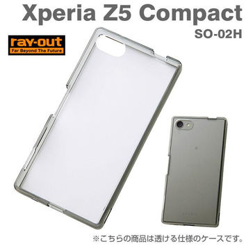 Rayout Hybrid Case for Xperia Z5 Compact (Clear / Black)