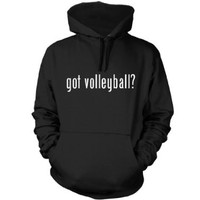 got volleyball? Funny Hoodie, Navy Blue, XX-Large
