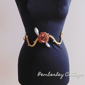 Margaery Tyrell rose belt - Game of Thrones Cosplay