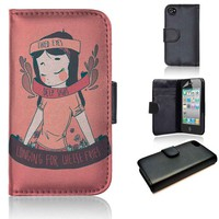 Cheese Queen | wallet case | iPhone 4/4s 5 5s 5c 6 6+ case | samsung galaxy s3 s4 s5 s6 case |
