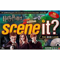 Harry Potter Scene It 2nd Edition Movie DVD Trivia Game Mattel m146