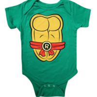 Teenage Mutant Ninja Turtles Raphael Baby Bodysuit