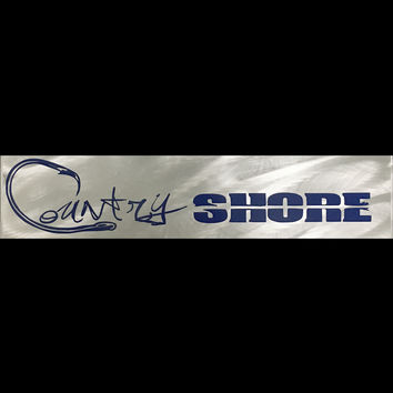Country Shore Decal