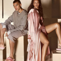 Are Rihanna's FENTY for PUMA Fur Slides Pink Or Nude? The Photos Make It Hard To Tell