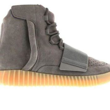 HCXX Yeezy Boost 750 - Light Grey Glow In The Dark