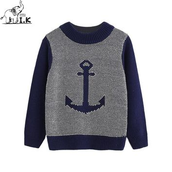 Casual Anchor kids Cotton Pullover Sweater