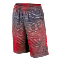 Jordan Flight Pattern Printed Boys' Basketball Shorts, by