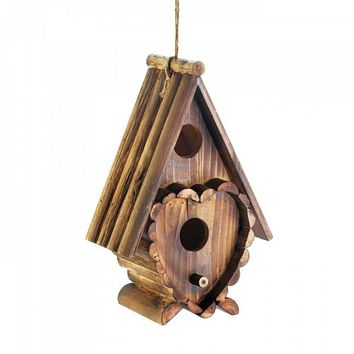 Heart Shape Birdhouse