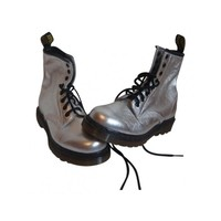 Chaussure dr martens DR. MARTENS Silver