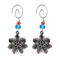 Starflower Charm Earrings - Guatemala