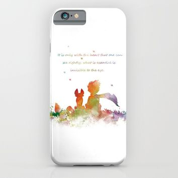 Little Prince iPhone & iPod Case by artsaren