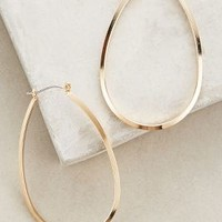 Indio Hoops by Anthropologie Gold One Size Earrings