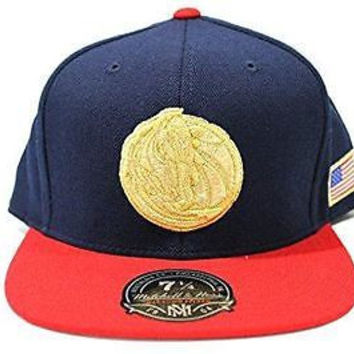 Mitchell & Ness Men's Dallas Mavericks USA Flag Fitted Hat