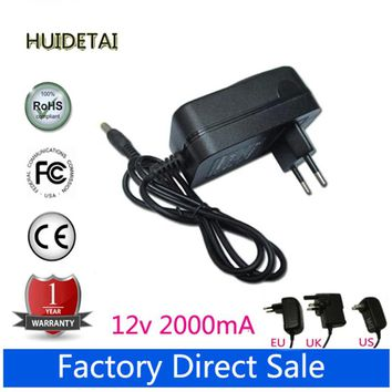 12V 2A Universal AC  DC Power Supply Adapter  Wall Charger For dns Air Tab m975w Tablet US UK AU UK Plug