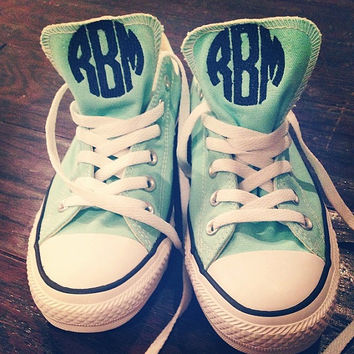 Monogrammed Converse Chuck Taylor Sneakers