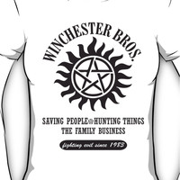 SUPERNATURAL - WINCHESTER BROTHERS Women's T-Shirt