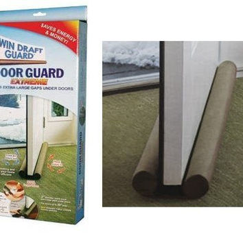 Twin Draft Guard Extreme - Energy Saving Under Door Draft Stopper