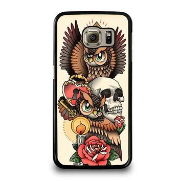 OWL STEAMPUNK ILLUMINATI TATTOO Samsung Galaxy S6 Case Cover