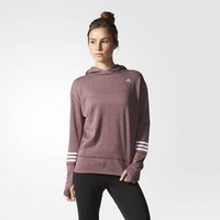 adidas Response Icon Hoodie - Brown | adidas US