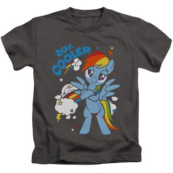 My Little Pony Boys T-Shirt Cooler Charcoal Tee