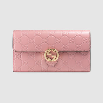Gucci - Gucci Icon Gucci Signature wallet