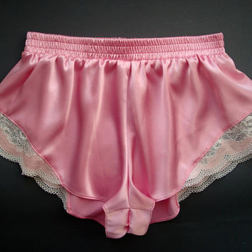 Pink panties Satin panties Silk panties White knickers Bridal lingerie Silk shorts Sheer panties Lace panties Sleepwear Silk pajama Sexy