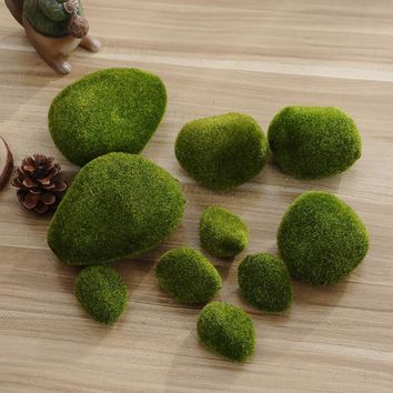 2017 Hot Sale Foam Green Moss Ball 5Pcs Marimo Aquarium Plant Cladophora Underwater Fish Tank Ornament