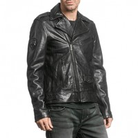 TOP LEGEND MOTORCYCLE JACKET - Outerwear - Mens