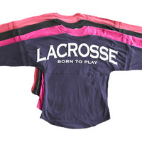 Youth Large Lacrosse Spirit Shirt