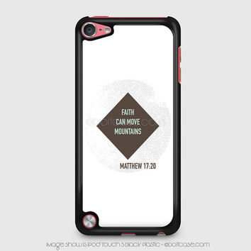 Bible verses iPod 5 Case, iPod Touch Case, iPod Case