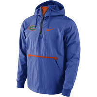 Men's Nike Royal Florida Gators Packable Woven Jacket