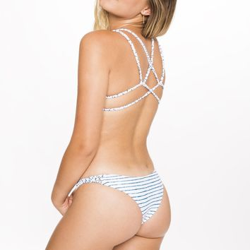Frankies Bikinis Kaia Bottom - Stripe