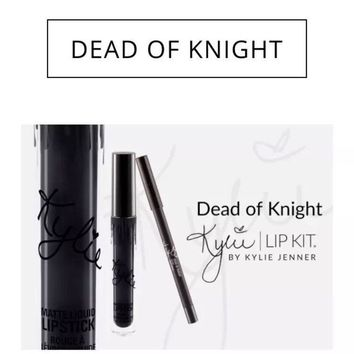 Kylie Cosmetics DEAD OF KNIGHT | LIP KIT