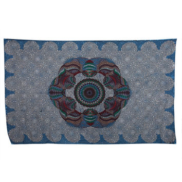 Love Lotus Sky Psychedelic Tapestry