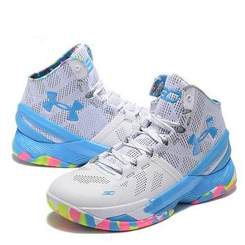 Trendsetter Under Armour Curry2  Women Men Fashion Casual Sneakers Sport Shoes
