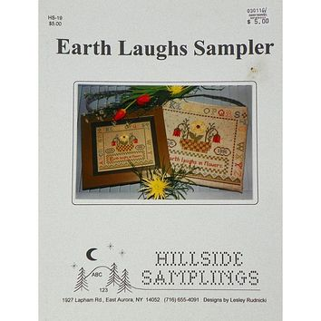 Earth Laughs Sampler - Counted Cross Stitch Leaflet