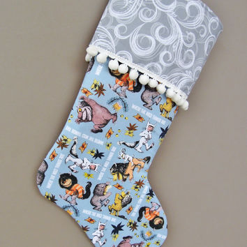 Where the Wild Things Are Christmas Stocking, Maurice Sendak, Where the Wild Things Are, Holiday Stocking, Stocking, Children's stocking