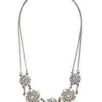 ModCloth Luxe Get Your Filigree Necklace