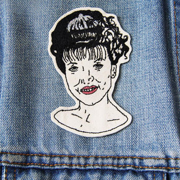 Laura Palmer Embroidered Patch/Brooch