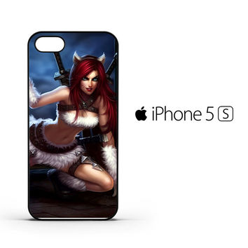 League Of Legends Kitty Kat Katarina Z0611 iPhone 5 | 5S Case