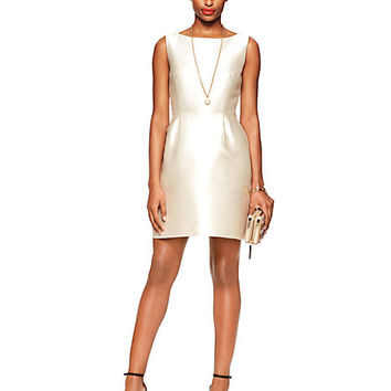 Kate Spade Flirty Back Mini Dress Cream
