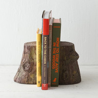 Cast Log Bookends