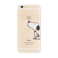 Snoopy Touch Apple iPhone 6s 6 Plus SE 5s 5 Soft Clear Case