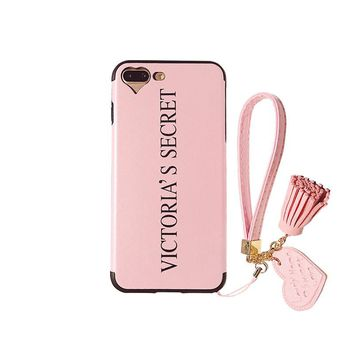 Victoria's Secret Pink Cover Cases for apple iphone 7 6 6s plus luxury TPU protection Cases