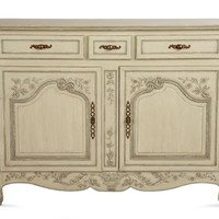 Painted Valmont Buffet - French Country - Pierre Deux