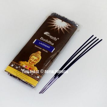 Lavender Incense Sticks - Pack of 100 Sticks Wholesale on RoyalFurnish.com